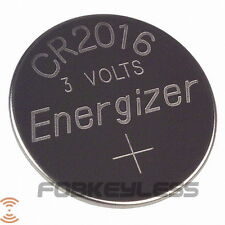 Brand New Keyless Entry Remote Energizer Battery Replacement CR2016