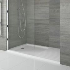 1700 X 800mm Drying Area Shower Tray with a 1000mm Wet Panel