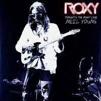 NEIL YOUNG Roxy Tonight's The Night Live (2018) 18-track vinyl 2-LP NEW/SEALED