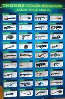 Gaming - Choose Your Weapon- Poster-Laminated Available-91cm x 61cm-Brand New