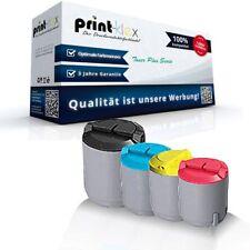4x Printer Tonerkartuschen für Samsung CLX 2160 CLP K300A C30 - Toner Plus Serie