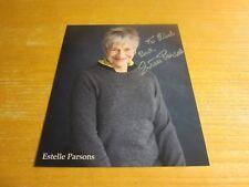 Estelle Parsons Actress Autographed 8X10 Photograph Bonnie and Clyde Roseanne