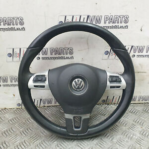 MULTI FUNCTION STEERING WHEEL & BAG AIR VW GOLF MK6 08-12 3C8419091BE 3C8880201K