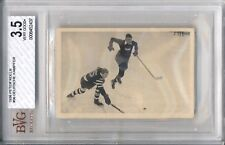 1936 Peter Kolln GERMAN HOCKEY #56 BVG 3.5 VG+ Vintage Ice Hockey Card