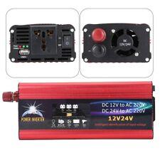 Universale Solare Inverter 4000W 7000W 12V/24V 220V Convertitore USB