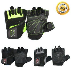 Weight Lifting Gloves Training Gym Workout Bodybuilding Fitness Cycling Wrap