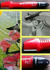 Garden Tools Shears Pruners Lawn Mower Blades Blade Sharpener & Oil Lubricant