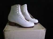 Sp-Teri #550 Super Teri Deluxe White Ice Figure Skating Boot 3 1/2 Aa