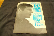 """Bobby Vee 1966 ad for hit """"Here Today,"""" """"The Night Has a Thousand Eyes"""" singer"""