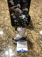 Frank Thomas Signed Chicago White Sox 2-Time MVP Bobblehead Beckett COA HOF RARE