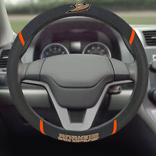 Anaheim Ducks NHL Embroidered Steering Wheel Cover