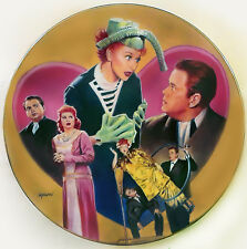 (I Love) LUCY MEETS ORSON WELLES Hamilton Plate, NEW!