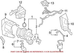 Genuine OEM Turbocharger Brace for Mini 11657588504