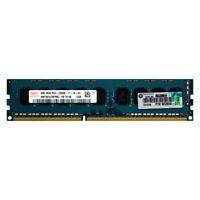 HP Genuine 4GB 2Rx8 PC3-12800E DDR3 1600MHz 1.5V ECC UNB UDIMM Memory RAM 1x4G