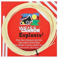 Weiss Cannon Explosiv! (Explosive) 16 / 1.30mm Tennis String Set