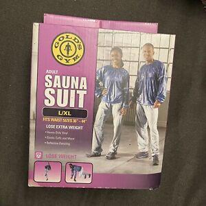 Gold's Gym Performance Sauna Suit, L/XL