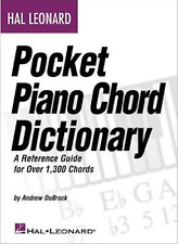 Hal Leonard Pocket Piano Chord Dictionary A Reference Guide for 1300 chords