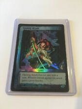 Shonen Jump's Shaman King / Opening Attack / Serve / Holo Foil / Upper Deck TCG