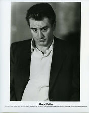Goodfellas original photo Robet de Niro portrait in open shirt and suit