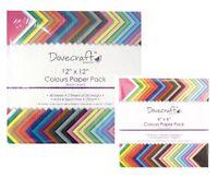 Dovecraft Scrapbooking Colorato Carta Confezioni Quadrato Colori Assortiti Acidi