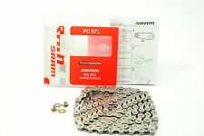 SRAM PC-971 9-Speed Silver/Gray Chain with Powerlink