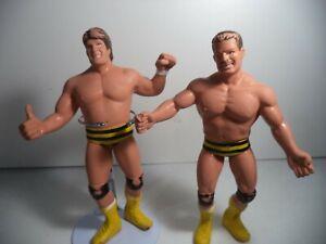 LJN Wrestling Superstars WWF WWE Killer Bees Damaged Hands