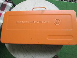 autogen schweißgerät Messer Griesheim , ungebraucht , Lagerspuren . made in DE