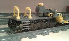 LEGO® City Eisenbahn gelber Schwerlasttiefladewagon MOC bricktrain 60098 60198