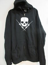 NEW - DEATH BY STEREO BAND CONCERT MUSIC ZIP UP HOODIE SWEATSHIRT EXTRA LARGE