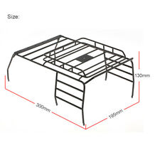 Metal Roof Luggage Rack Carrier for 1/10 AXIAL SCX10 JEEP Wrangler RC Car V1W1