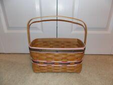 * Longaberger * 2010 Special Event Boyd'S Fest Basket - Signed *