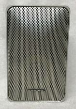 REALISTIC Minimus-7 Cat# 40-2034 SILVER Book Shelf SPEAKER One (1) 8 Ohm 40 Watt