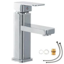 Einhebelmischer Wasserhahn Waschtischarmatur Badezimmerarmatur Badewanne Chrom