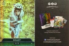 Beast Token FOIL - Cosplay | NM | altered Art Promo - Tokens for MTG