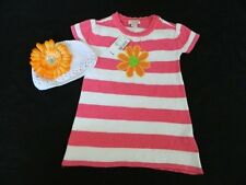 NEW Set Girls Childrens Place Sweater Dress Size 2T & Hat With Flower $34
