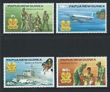 1981 PAPUA NEW GUINEA Defence Force Set MNH (SG 408-411)