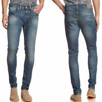 Selected Homme Herren Slim Skinny Fit Stretch Jeans Hose |One Roy 1350