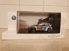 SPARK - VOLKSWAGEN POLO R WRC   - 1:43 SCALE MODEL CAR - VW DEALER