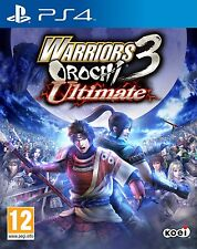 Warriors Orochi 3 Ultimate (PS4) BRAND NEW SEALED PLAYSTATION 4