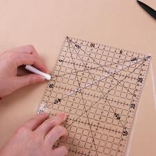 Transparente Regla Acolchado Patchwork Utensilio para Prendas Creación 15x30cm