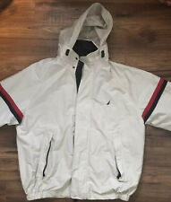 Vintage Men's Nautica Jacket White-Size Large