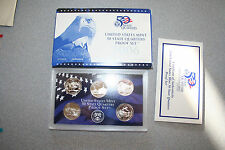 2006 United States Mint 50 Quarters Proof Set 5 Coins Coa Gift Free Shipping 550