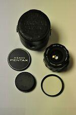 Asahi Pentax Super-Takumar 28mm f3.5 M42 mount with filter, caps & case.