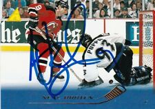 NEAL BROTEN, NEW JERSEY DEVILS, RARE AUTO'D/SIGNED NHL CARD.