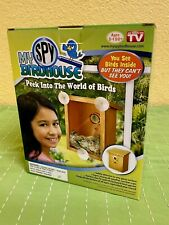 My Spy Birdhouse - As Seen on TV - NEW - Peek Into the World of Birds Nesting