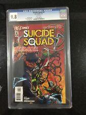 SUICIDE SQUAD # 4 / The new 52! / CGC Universal 9.8 / February 2012 / DC COMICS