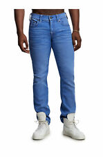 True Religion Men's Ricky Relaxed Straight Jeans Size 42 x 34 NWT Bright Rogue