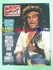rivista CIAO 2001 25/1982 Pino Daniele Martha Davis Rupert Holmes Visage No cd