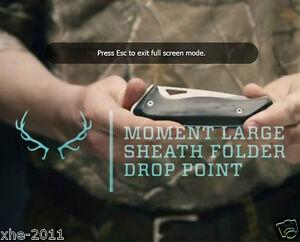 Authorized Gerber Moment Sheath Folder Drop Point Pocket Folding Knife 2209
