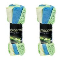 (2 Pack) Peak 3-piece Microfiber Car Detailing Set Towel Removes Sap Bugs Grime
